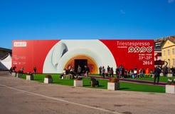 Expo del café express de Trieste Foto de archivo libre de regalías