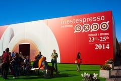 Expo del café express de Trieste Fotografía de archivo libre de regalías