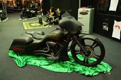 Expo della bici del motore, motocicletta Harley Davidson immagini stock libere da diritti