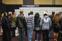 Expo di abilità & di lavori Immagini Stock Libere da Diritti