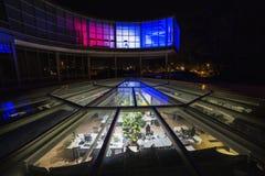 EXPO di costruzione colorata 58 a Praga, repubblica Ceca Immagine Stock Libera da Diritti