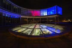 EXPO di costruzione colorata 58 a Praga, repubblica Ceca Fotografia Stock Libera da Diritti