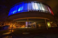 EXPO di costruzione colorata 58 a Praga, repubblica Ceca Fotografie Stock