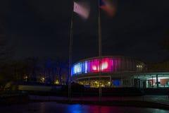 EXPO di costruzione colorata 58 a Praga, repubblica Ceca Immagini Stock
