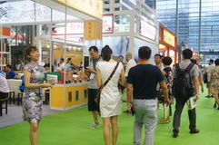 Expo do chá de Shenzhen Imagens de Stock Royalty Free