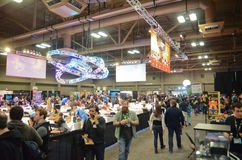 Expo 2014 do jogo do festival de SXSW foto de stock royalty free