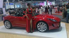 Expo do motor Tailândia 2014 Fotografia de Stock Royalty Free