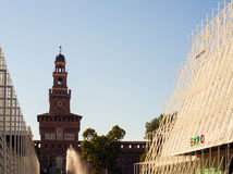 Expo 2015 en Milano Fotos de archivo libres de regalías