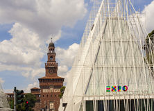 Expo 2015 en Milano Fotografía de archivo libre de regalías