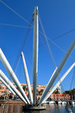 Expo et Bigo, Gênes Photo libre de droits