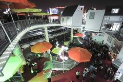 Expo 2010 för kinesShanghai värld Holland Pavilion Arkivfoton