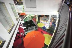 Expo 2010 för kinesShanghai värld Holland Pavilion Arkivbilder