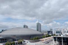 Expo fairs area in Lisbon - Lisbon Royalty Free Stock Image