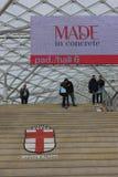 Expo fatta giusta a Milano Immagini Stock Libere da Diritti