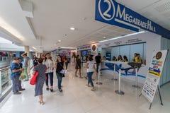 Expo Filipinas del viaje del centro turístico de sept 9,2017 DRTDiving en el SM mega Foto de archivo