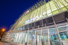 Expo Gate 2015 in Milan, Italy. Royalty Free Stock Photo