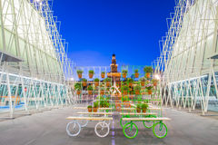 Expo Gate 2015 in Milan, Italy. Royalty Free Stock Photography