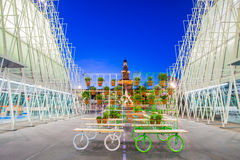 Expo Gate 2015 in Milan, Italy Royalty Free Stock Photography