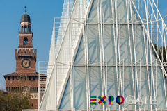 Expo Gate Stock Photography