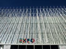 Expo Gate of World Expo Milan 2015 Royalty Free Stock Image