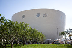 Expo het Paviljoen Shanghai - Finlan van 2010 Royalty-vrije Stock Foto's
