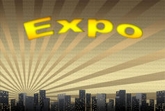 Expo, illustration Royalty Free Stock Images