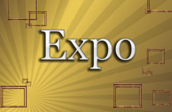 Expo, illustration Stock Photos