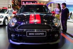 Expo internacional do motor de Mini Coper Car On Thailand Fotografia de Stock Royalty Free