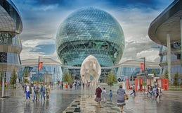 Expo internationale 2017 d'Astana d'exposition Photographie stock libre de droits