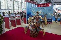 Expo internationale 2014 d'industrie du tourisme de Guangdong Photographie stock