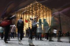 Expo italiana Schang-Hai del padiglione Fotografie Stock