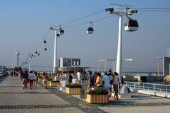 Expo in Lisbon Royalty Free Stock Images