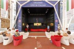 Expo Milán 2015 - Italia Imágenes de archivo libres de regalías