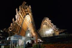 EXPO 2015 Milaan - het tweede paviljoen van China Stock Foto's