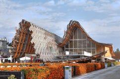 Expo 2015, Milaan, Italië, september 2015, Chinees paviljoen Stock Foto's