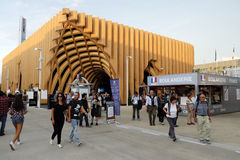 Expo 2105 milan Royaltyfri Bild