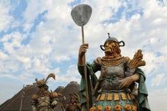 EXPO 2015, Milan, Italy, Wrzesień 2015, alegoryczna statua Obrazy Royalty Free