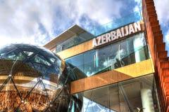 EXPO 2015, Milan, Italy, Wrzesień 2015, Azerbaijan pawilon Zdjęcie Stock