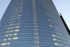 Expo2015 milan,milan,cesar pelli tower Stock Image