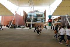 Expo2015 milan, milano Arkivbild