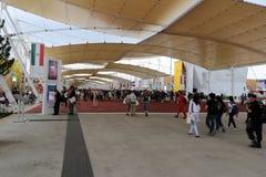 Expo2015 milan, milano Arkivfoton