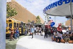 Expo Milan Nederland Pavilion 2015 Fotografia Stock Libera da Diritti