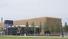Expo 2015 Milan Nederland Pavilion Stock Photo