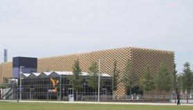 Expo 2015 Milan Nederland Pavilion Stock Photo