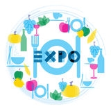 Expo 2015. Milan, universal exhibition Feeding The Planet Royalty Free Stock Image
