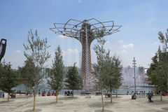 Expo 2015 Milan tree of Life Stock Images
