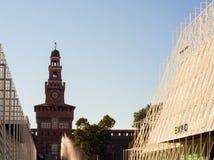 Expo 2015 in Milan Royalty Free Stock Photos