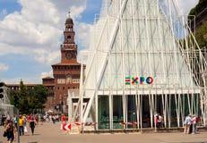 Expo 2015 in Milan Stock Photo