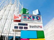 Expo Milano 2015 Fotos de archivo