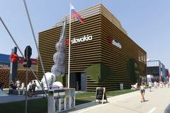 Expo Milano 2015 - Italia Immagini Stock